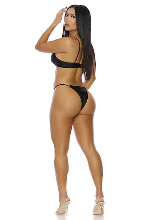 Forplay Ibiza Black Bikini back 2