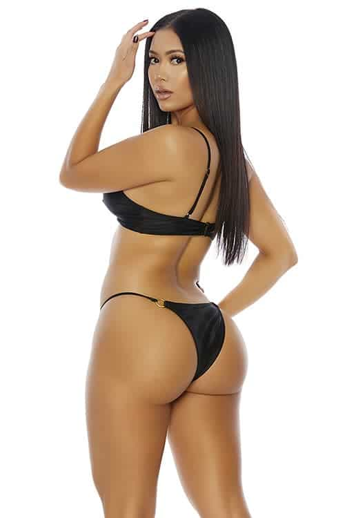 Forplay Ibiza Black Bikini back