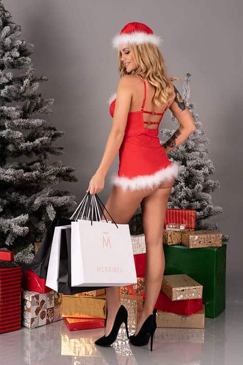 Livia Corsetti Agethe Christmas Dress back